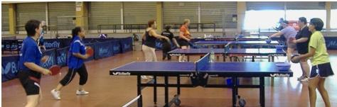 Ping au féminin le 7 septembre 2014 à Saint-Denis