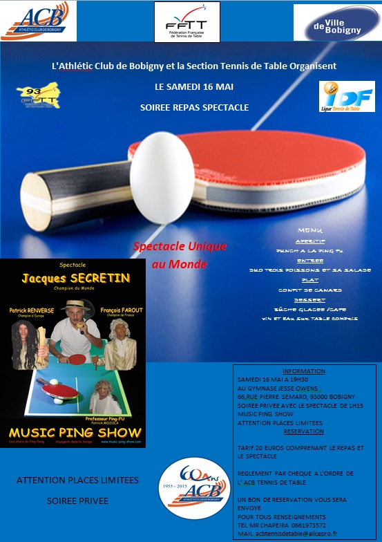 Rencontre tennis de table