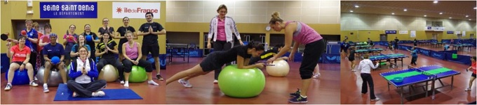 Regroupement féminin Ping, Sport & Santé : le 2 juin 2018 à Bobigny