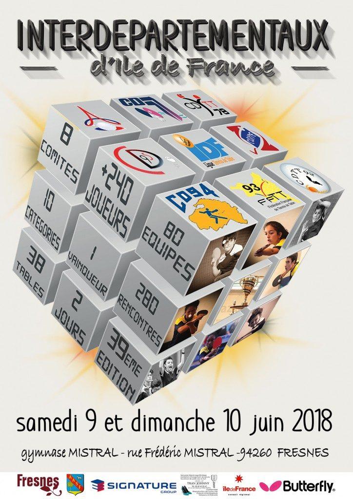 Affiche Interdépartementaux 2018