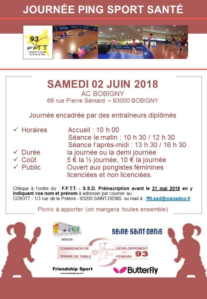 Regroupement féminin 02 juin 2018