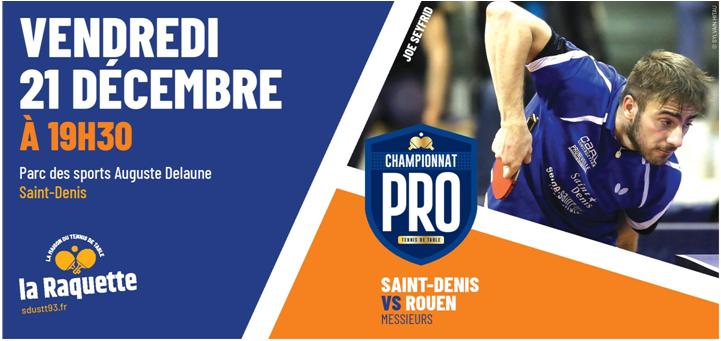 Pro A: vendredi 21 décembre 2018 à Saint-Denis