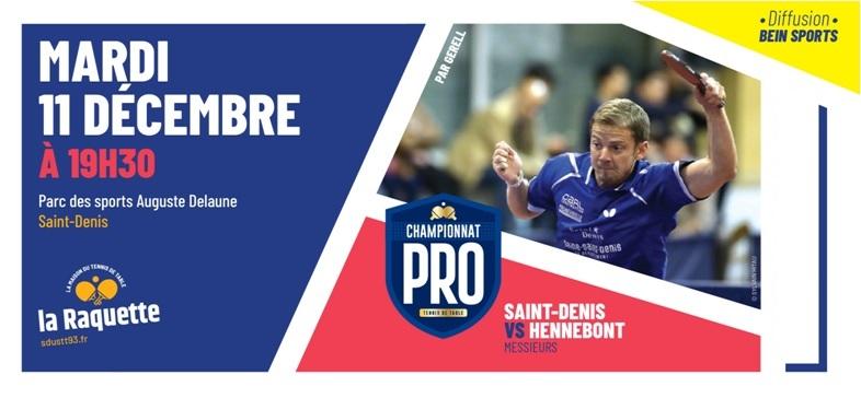 Pro A: mardi 11 décembre 2018 à Saint-Denis
