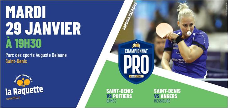 Pro A: mardi 29 janvier 2019 à Saint-Denis