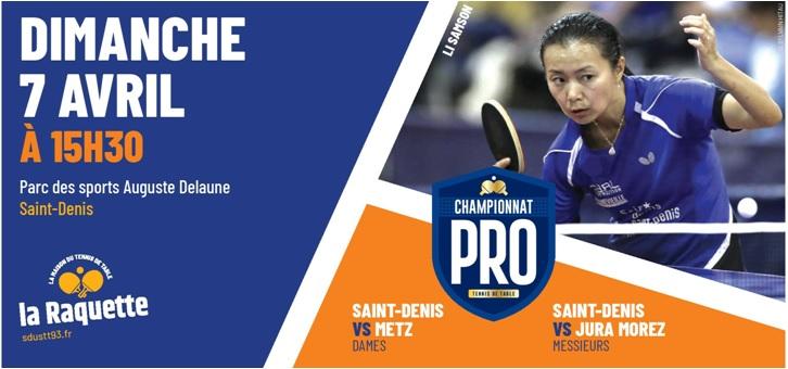 Pro A: dimanche 7 avril 2019 à Saint-Denis