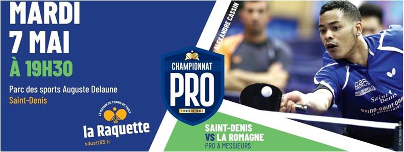 PRO A: mardi 7 mai 2019 à Saint-Denis