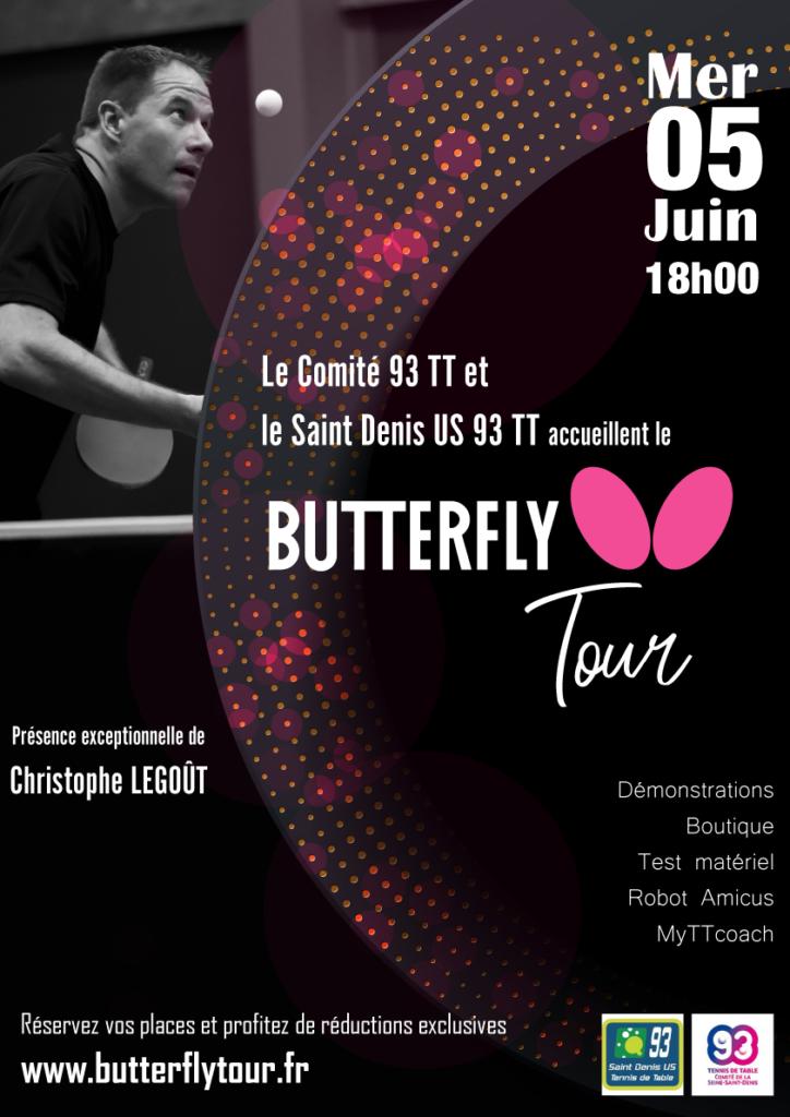 Butterfly Tour - Mercredi 5 Juin 2019 à 18H00 à Saint-Denis