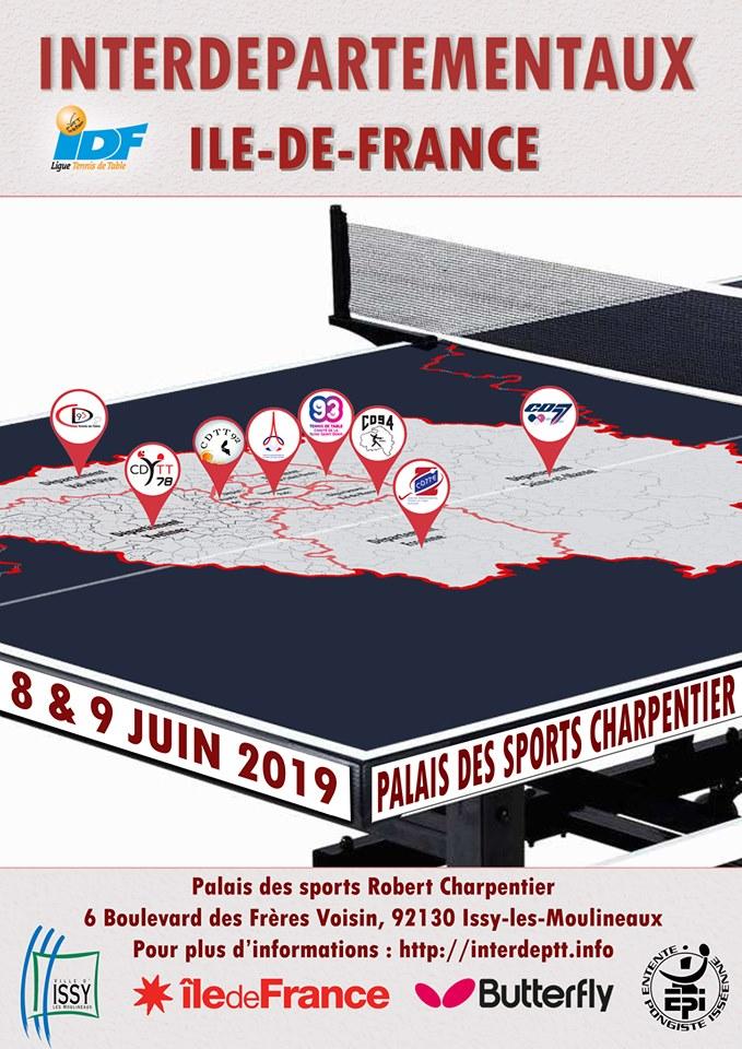Affiche Interdépartementaux 2019