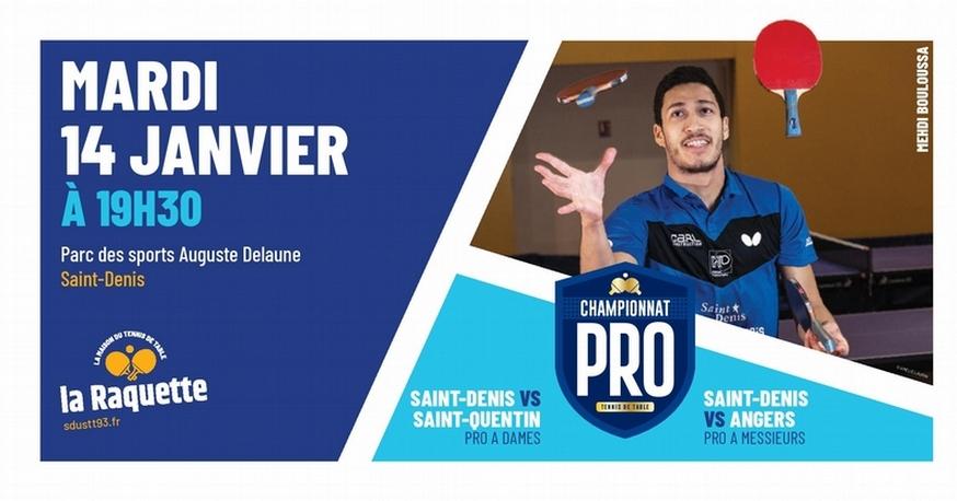 PRO A: mardi 14 janvier à Saint-Denis