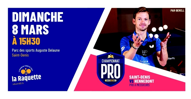PRO A: dimanche 8 mars à Saint-Denis