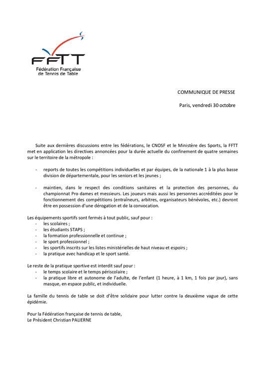 communique_FFTT_30-10-2020