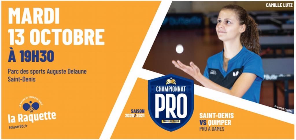 PRO A : mardi 13 octobre à Saint-Denis