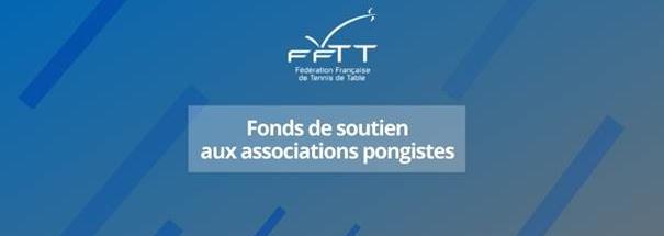FFTT: Fond de soutien aux associations pongistes